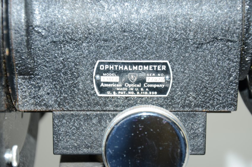 American Optical Company Improved Micromatic Ophthalmometer-6